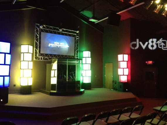 church stage design design elements think tank
